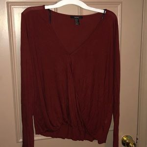 Maroon Forever XXI Top